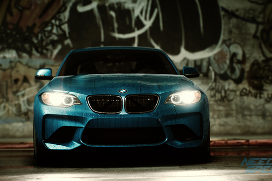 BMW M2 Coupé in Need for Speed (Video)
