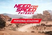 Nuovo trailer per Need For Speed Payback: personalizzazione auto